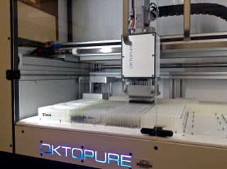 Oktopure DNA extraction robot